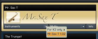 Mr.Sax T 1.51リリース