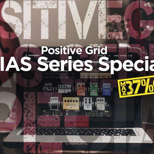 Positive Grid BIAS Software プロモーション