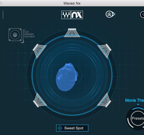 WavesNx 使用方法