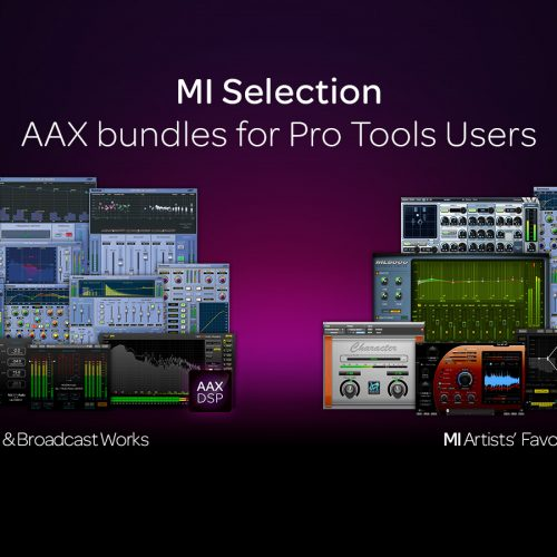 MI Selection: AAX bundles for Pro Tools Users