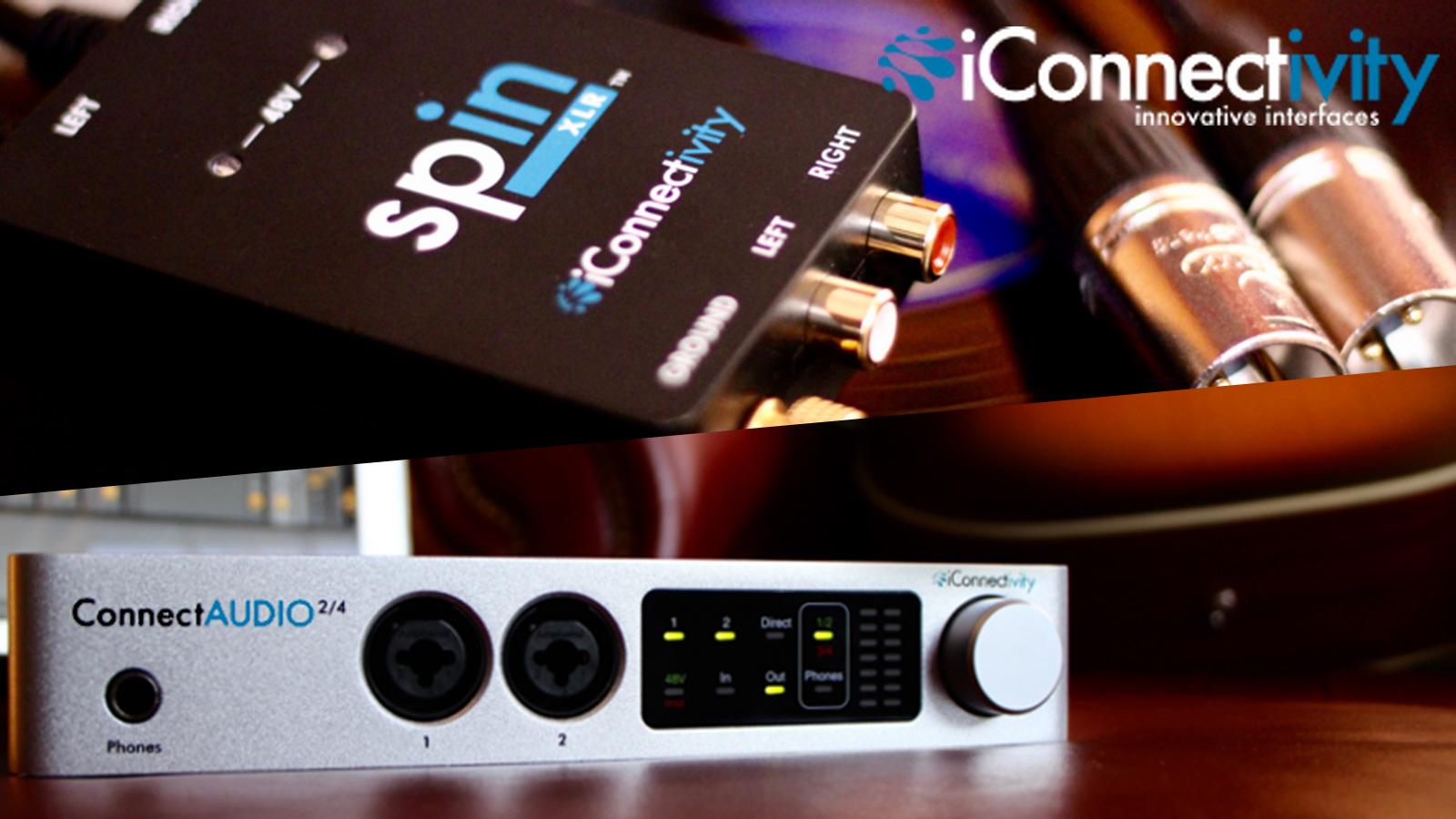 iConnectivityから新製品、ConnectAUDIO2/4とspinXLR、2/24(金)発売