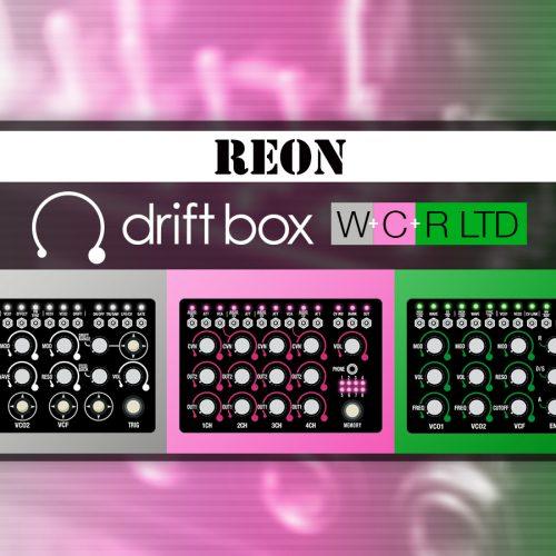 3つのモデルをバンドル driftbox W+C+R_Limited