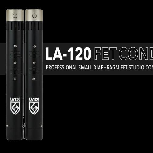 LA-120 SERIES BLACK FET CONDENSER