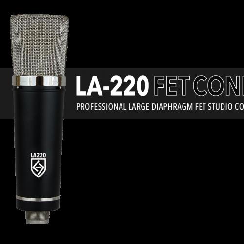 LA-220 SERIES BLACK FET CONDENSER