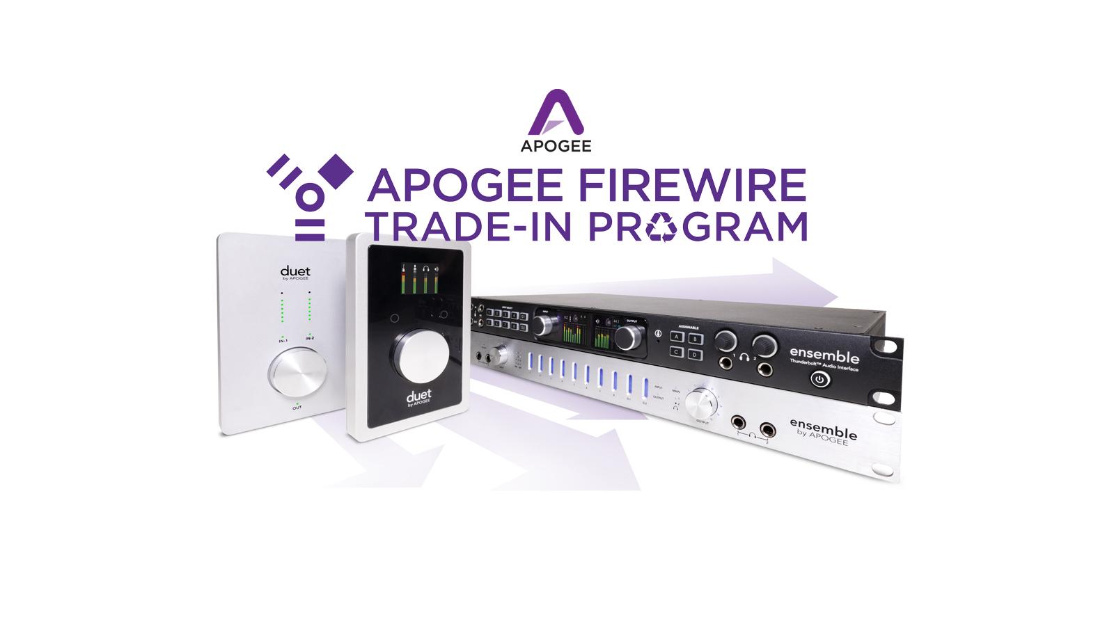 Duet & Ensemble FireWire アップグレードキャンペーン