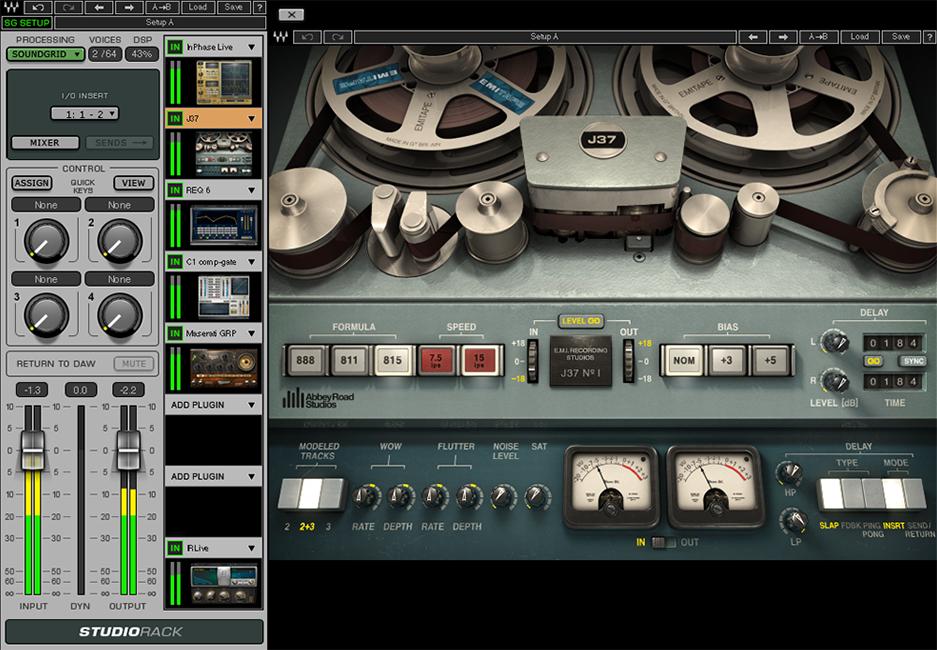 便利なプラグインの使い方〜Waves StudioRackを使いこなす〜