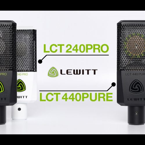 Lewitt LCT 240PRO / LCT 440PURE 新発売
