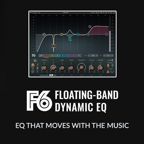 Waves F6 Floating-Band Dynamic EQリリース!