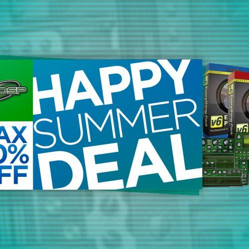 McDSP Happy Summer Deal 2017