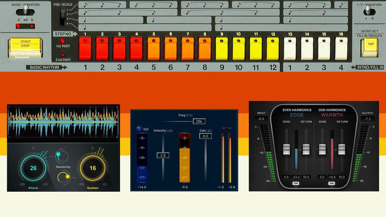 808系ドラム&ベースサウンドのためのTips集