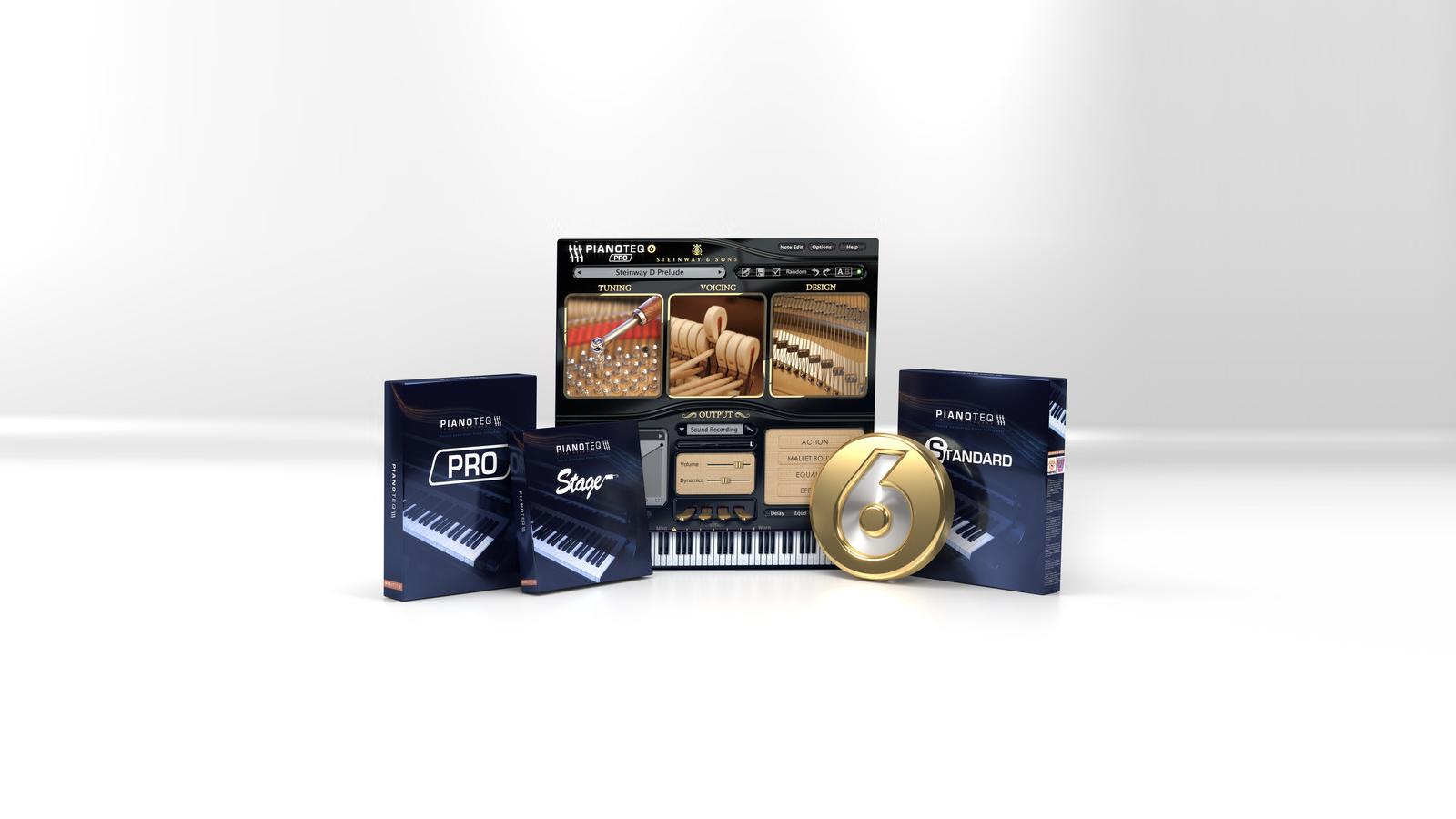 Pianoteq 6 – フィジカル・モデリング・ピアノ音源が3年ぶりのメジャー・バーションアップ。