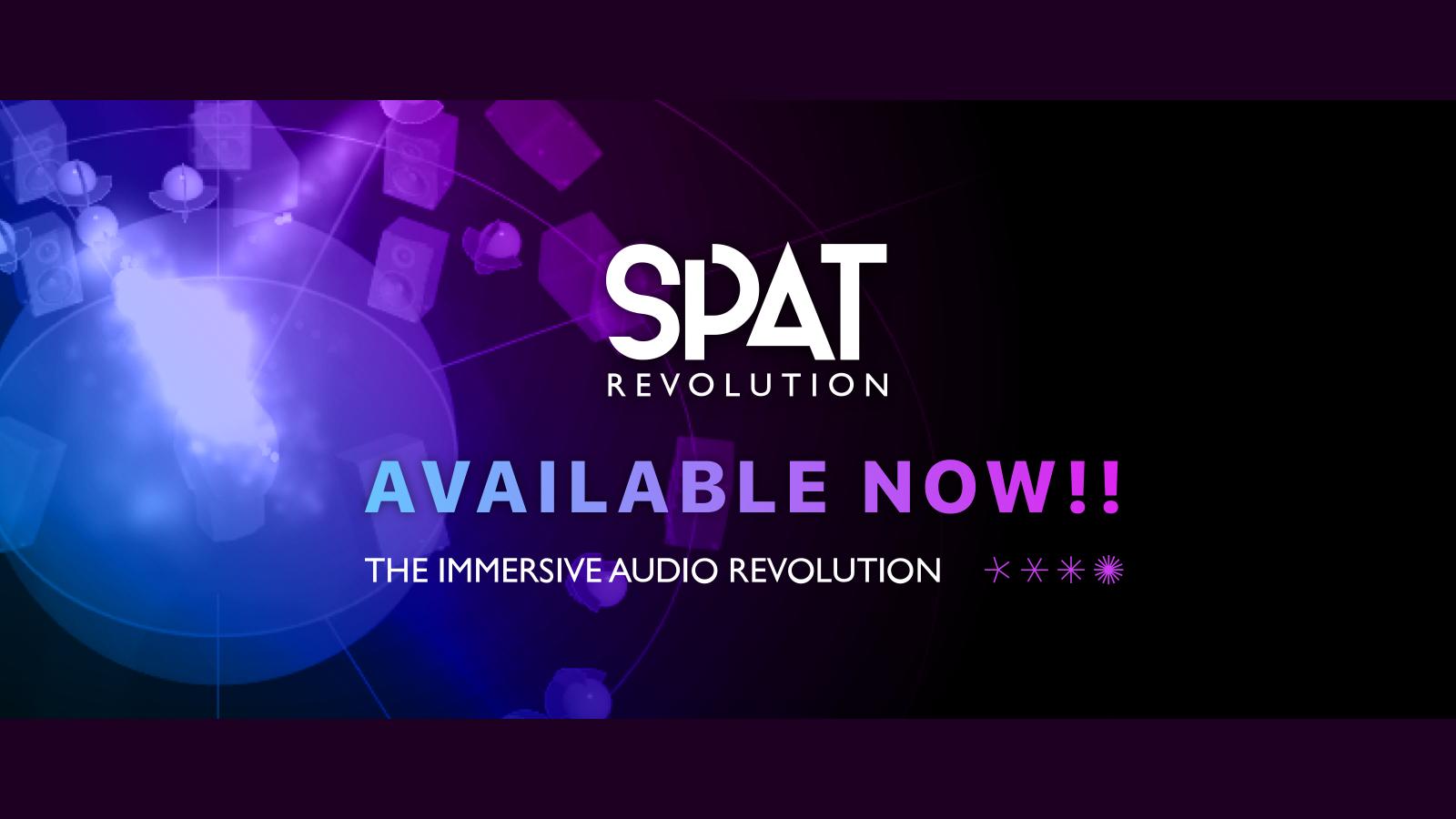 SPAT REVOLUTION、統合型3Dオーディオ編集アプリケーション、遂に登場!