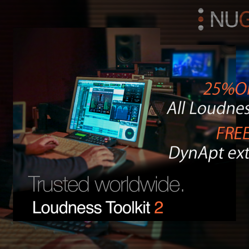 All Loundness Tools 25%OFF + FREE DynApt extension.