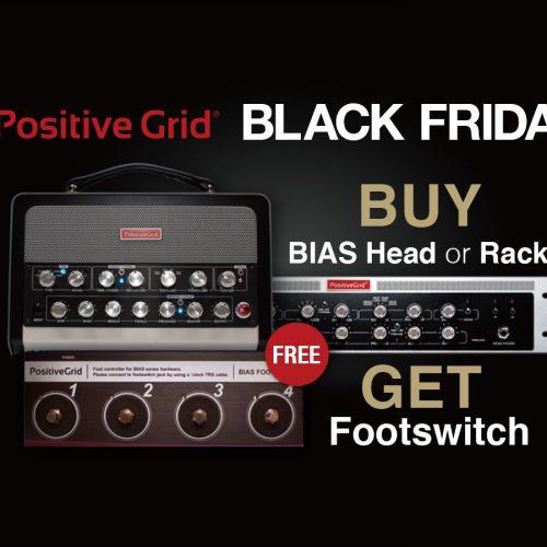 Positive Grid Black Friday & Holiday Season Promo 2017: BIAS Head シリーズ