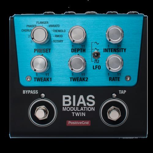 性能はPro仕様そのままに、2フットスイッチ仕様のBIAS Twinシリーズ発売!