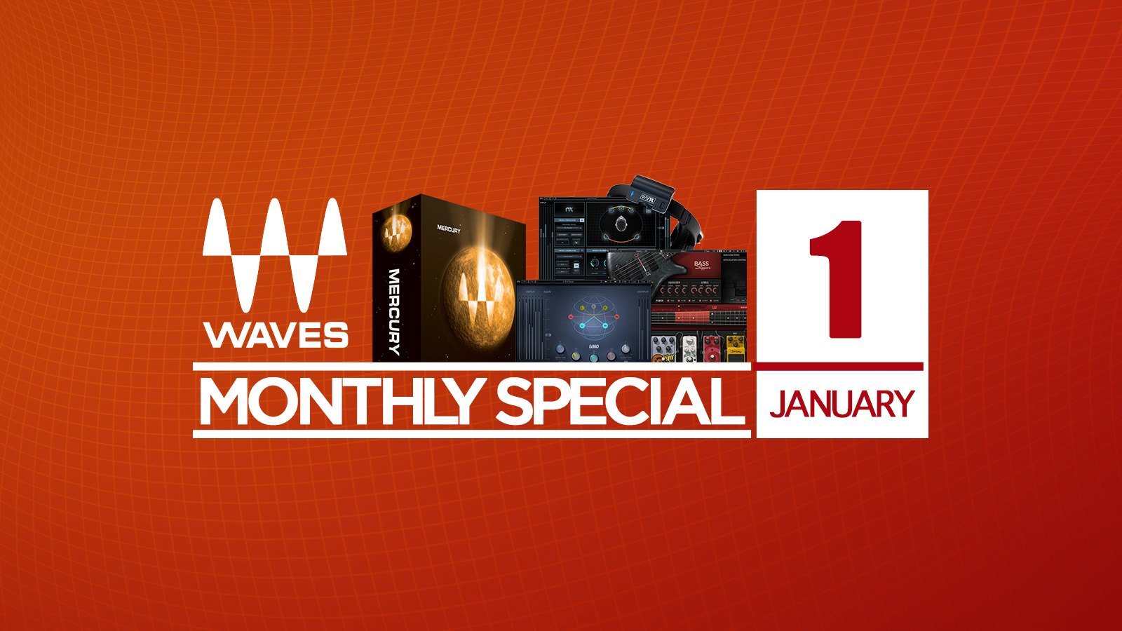 Diamondが日本限定91%オフ!Waves January Special 2018