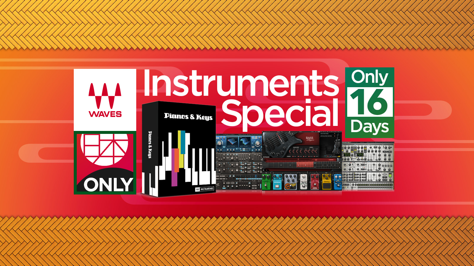 Waves 日本限定 Instruments Special!