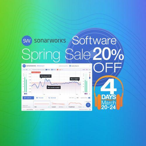 あなたのリスニング環境をフラットに!Sonarworks製品が期間限定で20%OFF