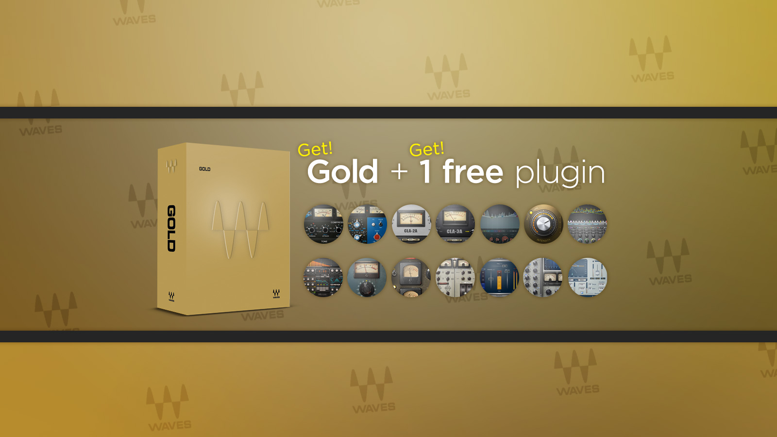Buy Gold &#038; Get 1 Free Plug-in <br>日本限定プロモーション!