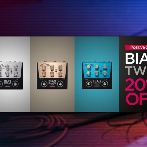 数量限定 BIAS TWINシリーズ 20%オフ・プロモーション