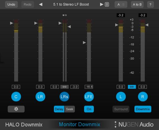 コンパクトな5.1メーター表示モード